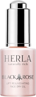 Herla омолаживающее сухое лифтинг-масло для лица Black Rose lift rejuvenating face dry oil