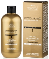 Hair Company Inimitable Blonde PERFECTIONEX Treat 1 - Защита и восстановление при обесцвечивании и других химических процедурах фаза 1