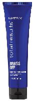 Matrix Total Results Color Obsessed Brass Off - Глубокое питание и термозащита осветленных волос