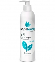 Depiltouch - Охлаждающий гель с экстрактом мяты после депиляции