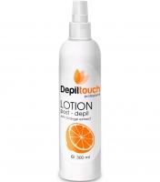 Depiltouch Лосьон с маслом апельсина после депиляции