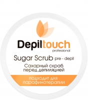 Depiltouch - Скраб сахарный перед депиляцией с натуральным мёдом