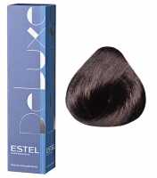 Estel Professional De Luxe - 4/7 шатен коричневый