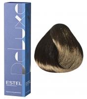 Estel Professional De Luxe - 4/70 шатен коричневый для седины