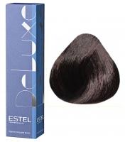 Estel Professional De Luxe - 4/75 шатен коричнево-красный