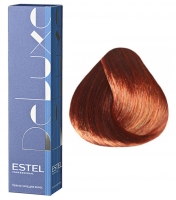 Estel Professional De Luxe - 6/50 темно-русый красный для седины