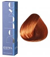 Estel Professional De Luxe - 7/44 русый медный интенсивный