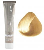 Estel Professional De Luxe Silver - 10/36 светлый блондин золотисто-фиолетовый для 100% седины