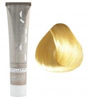 Estel Professional De Luxe Silver - 10/74 светлый блондин коричнево-медный для 100% седины
