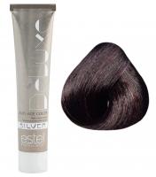 Estel Professional De Luxe Silver - 4/6 шатен фиолетовый