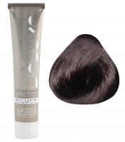 Estel Professional De Luxe Silver - 4/7 шатен коричневый