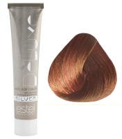 Estel Professional De Luxe Silver - 5/45 светлый шатен медно-красный