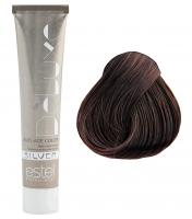 Estel Professional De Luxe Silver - 5/76 светлый шатен коричнево-фиолетовый