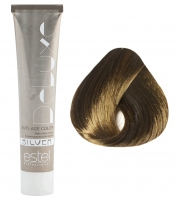 Estel Professional De Luxe Silver - 6/0 темно-русый