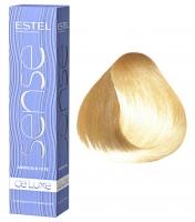 Estel Professional De Luxe Sense - 10/75 светлый блондин коричнево-красный
