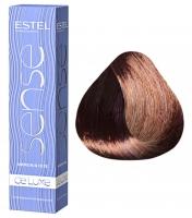 Estel Professional De Luxe Sense - 4/65 шатен фиолетово-красный
