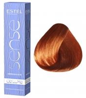 Estel Professional De Luxe Sense - 7/44 русый медный интенсивный
