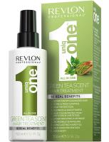 Revlon Professional Uniq One - Спрей-Маска для ухода за волосами с ароматом зеленого чая, 150 ml