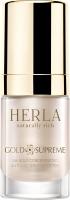 Herla концентрированная омолаживающая сыворотка для лица Золото HERLA Gold Supreme 24k gold concentrated anti-age serum booster
