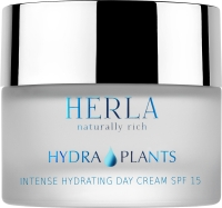 Herla интенсивно увлажняющий дневной крем SPF 15 Hydra Plants intense hydrating day cream SPF 15