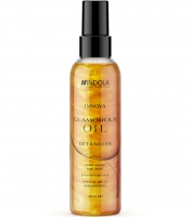 Indola Professional Glamorous Oil Detangler - Спрей-блеск, улучшающий расчесываемость