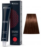 Indola Professional Profession Permanent Caring Care Red&Fashion - 4.4 средне-коричневый медный