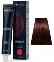Indola Professional Profession Permanent Caring Care Red&Fashion - 4.68 средний коричневый красный шоколадный