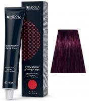 Indola Professional Profession Permanent Caring Care Red&Fashion - 5.77 светло-коричневый фиолетовый экстра