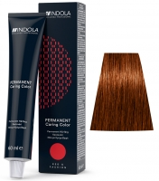 Indola Professional Profession Permanent Caring Care Red&Fashion - 6.43 темно-русый медно-золотистый