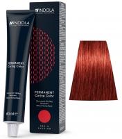 Indola Professional Profession Permanent Caring Care Red&Fashion - 6.66 темно-русый красный экстра