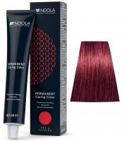 Indola Professional Profession Permanent Caring Care Red&Fashion - 7.76 средний русый фиолетовый красный
