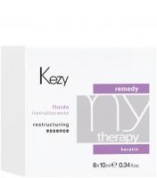 Kezy MyTherapy Remedy Keratin Restructuring Essence - Флюид реструктурирующий с кератином