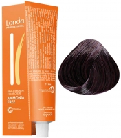 Londa Professional LondaColor Ammonia Free - 3/6 тёмный шатен фиолетовый