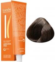 Londa Professional LondaColor Ammonia Free - 5/0 светлый шатен интенсивно-коричневый