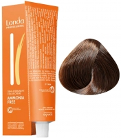 Londa Professional LondaColor Ammonia Free - 6/71 тёмный блонд коричнево-пепельный