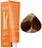 Londa Professional LondaColor Ammonia Free - 6/77 тёмный блонд интенсивно-коричневый