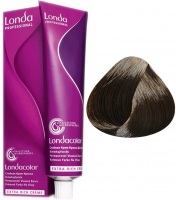 Londa Professional LondaColor - 5/07 светлый шатен натурально-коричневый