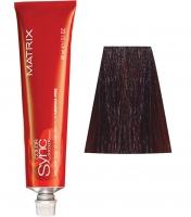 Matrix Color Sync - 4BR шатен коричнево-красный