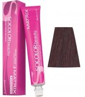 Matrix Socolor.Beauty - 5RV+ светлый шатен красно-перламутровый+