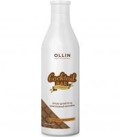 """Ollin Professional Cocktail Bar - Крем-шампунь для шелковистости волос """"Шоколадный коктейль"""""""