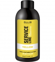 "Ollin Professional Service Line Yellow Fluid-Pre-Color - Флюид-препигментатор ""Желтый"""