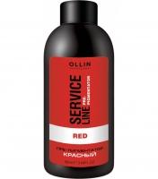 Ollin Professional Service Line Red Fluid-Pre-Color - Флюид-препигментатор
