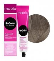 Matrix SoColor Pre-Bonded - 6NA темный блондин натуральный пепельный, 90 мл