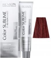 Revlon Professional Revlonissimo Color Sublime - 5.66 светло-коричневый насыщенно-красный
