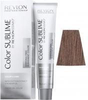 Revlon Professional Revlonissimo Color Sublime - 6.24 темный блондин перламутрово-медный