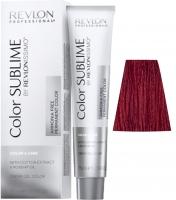 Revlon Professional Revlonissimo Color Sublime - 6.66 темный блондин насыщенно-красный
