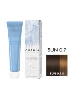 Cutrin Aurora Demi - Безаммиачный краситель SUN 0.7 Белые ночи