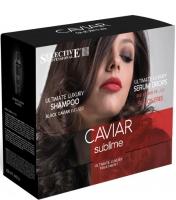 Selective Professional Caviar Sublime Ultimate Luxury Kit - Набор (шампунь+восстанавливающая сыворотка)