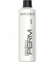 Selective Professional Proteo Perm 1 - Состав для нормальных, натуральных волос
