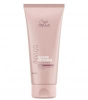 Wella Invigo Blonde Recharge Оттеночный бальзам-уход для тёплых светлых оттенков